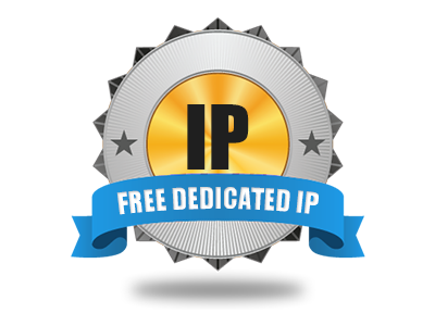 An absolutely free Dedicated IP address